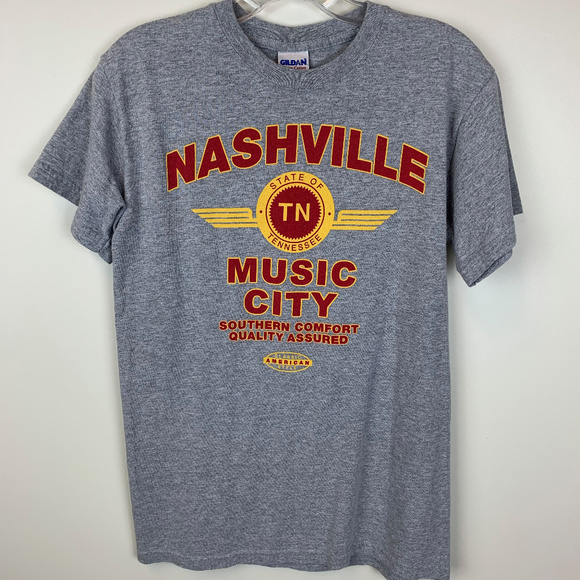 Gildan Other - Nashville Music City souvenir t-shirt